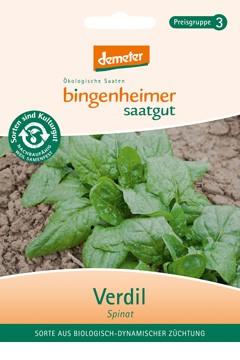 BIO Saatgut Spinat Verdil, bio-dyn Züchtung