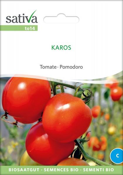 BIO Saatgut Tomate Karos