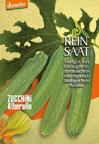 BIO Saatgut Zucchini Alberello