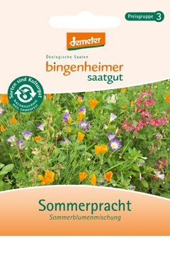 BIO Saatgut Blumenmischung Sommerpracht