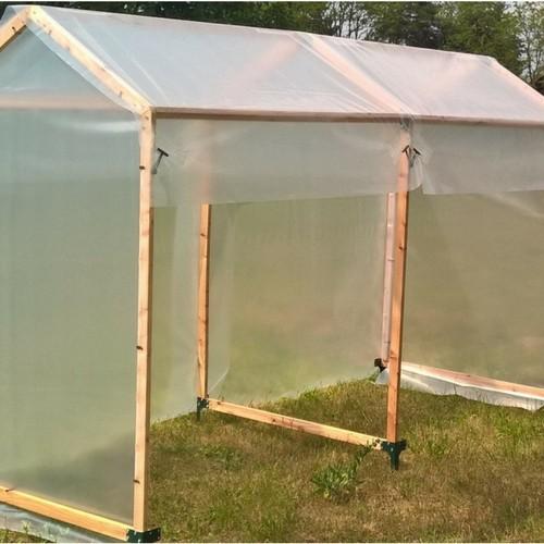 Tomatenhaus 300 x 120 x 180 cm doppelt