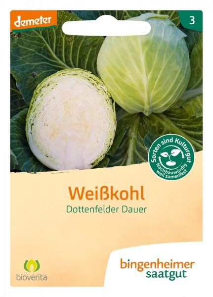 BIO Saatgut Weißkohl Dottenfelder Dauer