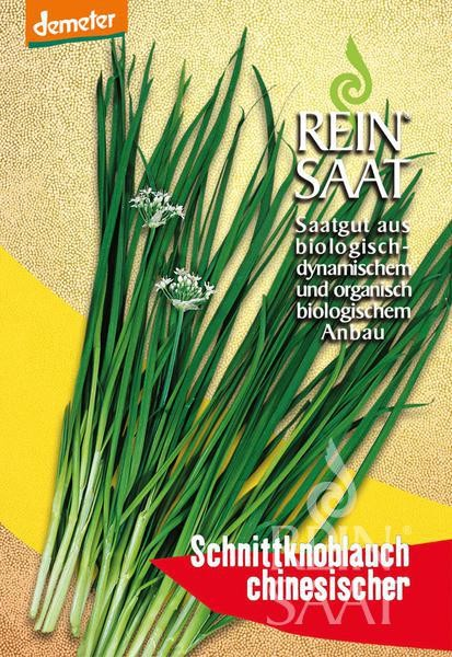 BIO Saatgut Schnittknoblauch chinesischer, mittelgrobröhrig