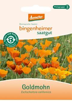 BIO Saatgut Goldmohn