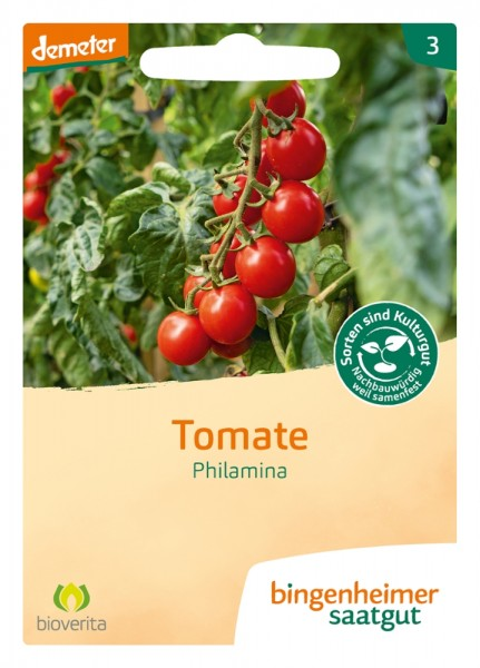 BIO Saatgut Cocktailtomate Tomate Philamina (AS)