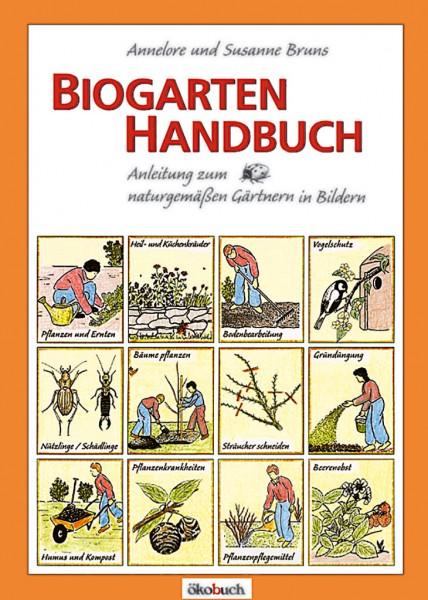 Biogarten Handbuch von Bruns, Annelore und Susanne