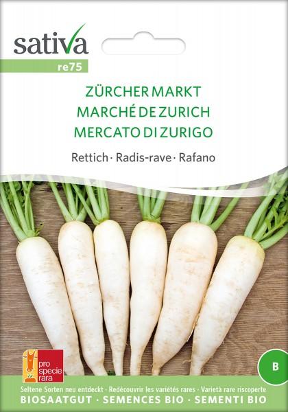 BIO Saatgut Rettich Zürcher Markt