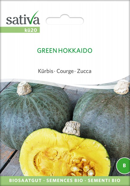 BIO Saatgut Kürbis Green Hokkaido