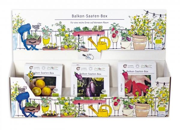 BIO Saatgut Balkon-Saaten-Box