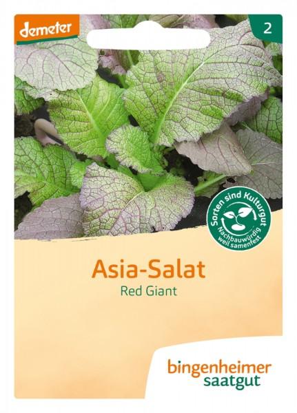 BIO Saatgut Asiasalat Red Giant
