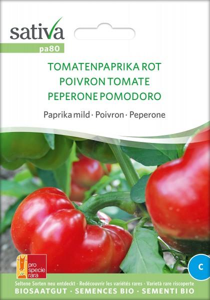 BIO Saatgut Tomatenpaprika rot