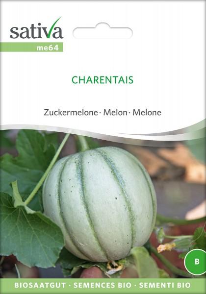 BIO Saatgut Melone Charentais