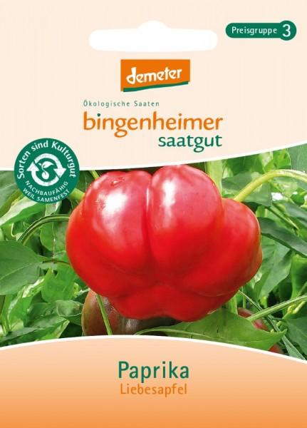 BIO Saatgut Paprika Liebesapfel