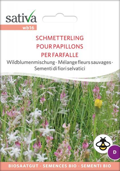 BIO Saatgut Wildblumenmischung Schmetterling