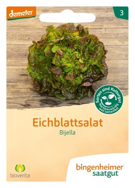 BIO Saatgut Eichblattsalat Bijella