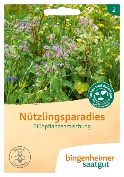 BIO Saatgut Blühpflanzenmischung Nützlingsparadies