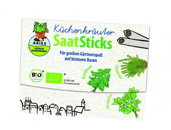 Aries Saatsticks Küchenkräuter