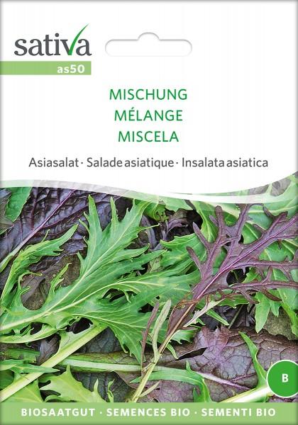 BIO Saatgut Asiasalat Mischung