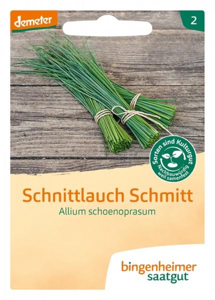 BIO Saatgut Schnittlauch Schmitt, mittelgrobröhrig