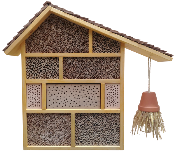 Wildbienenhotel zum großen Fuchs
