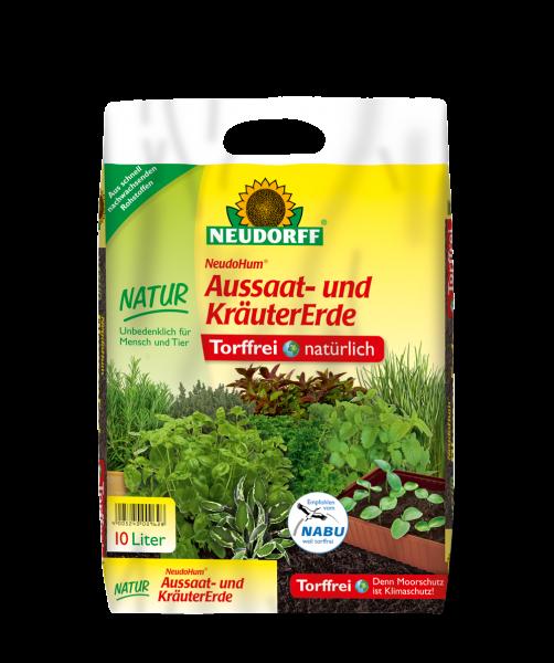 NeudoHum® Aussaat- und KräuterErde 10l