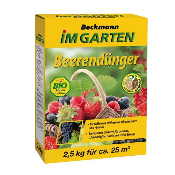 Beckmann BIO Beerendünger 2,5kg