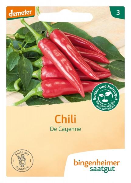 BIO Saatgut Peperoni De Cayenne