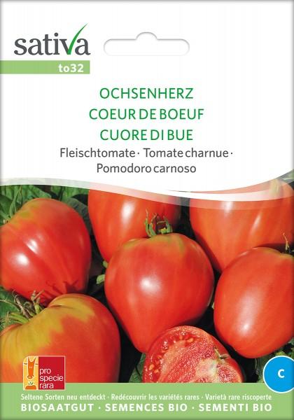 BIO Saatgut Tomate Ochsenherz
