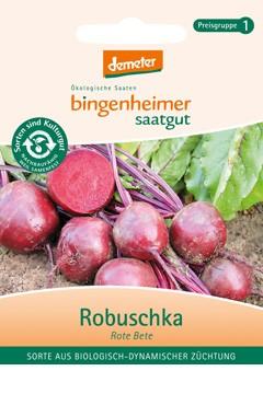 BIO Saatgut Rote Bete Robuschka