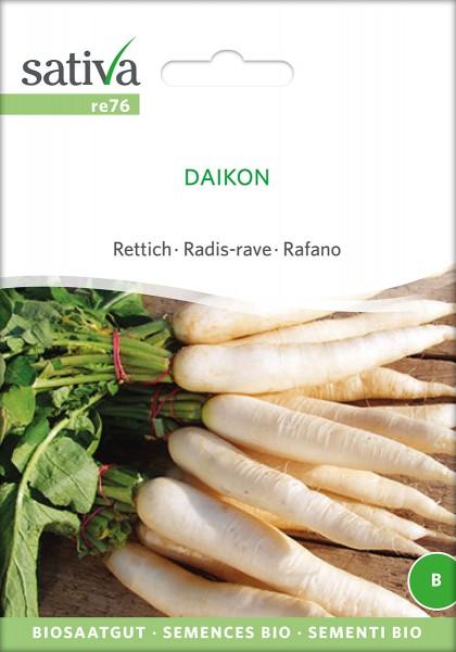 BIO Saatgut Rettich Daikon