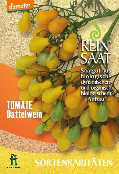 BIO Saatgut Tomate Dattelwein gelb