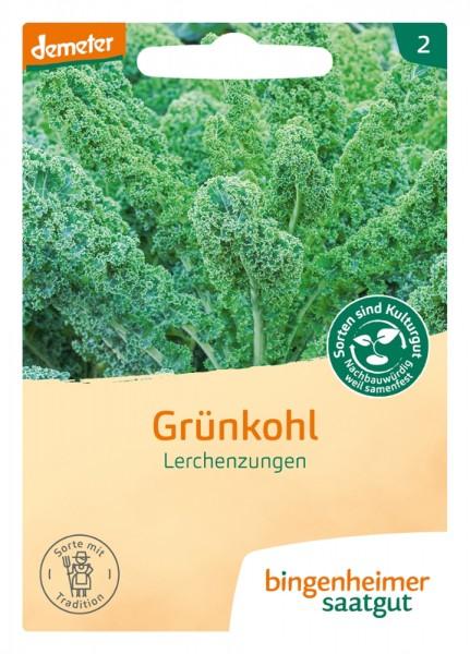 BIO Saatgut Grünkohl Lerchenzunge