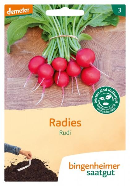 BIO Saatgut Radies Rudi GS Saatband