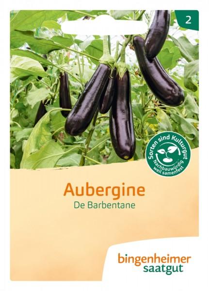 BIO Saatgut Aubergine De Barbentane