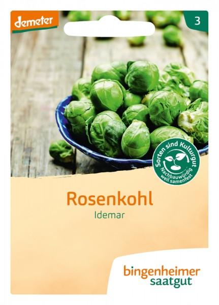 BIO Saatgut Rosenkohl Idemar