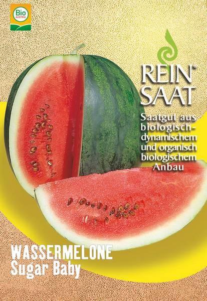 BIO Saatgut Wassermelone Sugar Baby