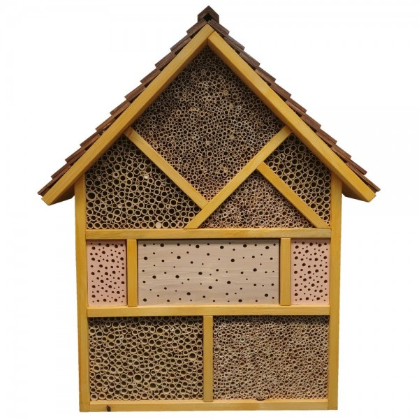 Wildbienenhotel zur Bienenkönigin