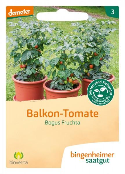 BIO Saatgut Balkontomate Bogus Fruchta