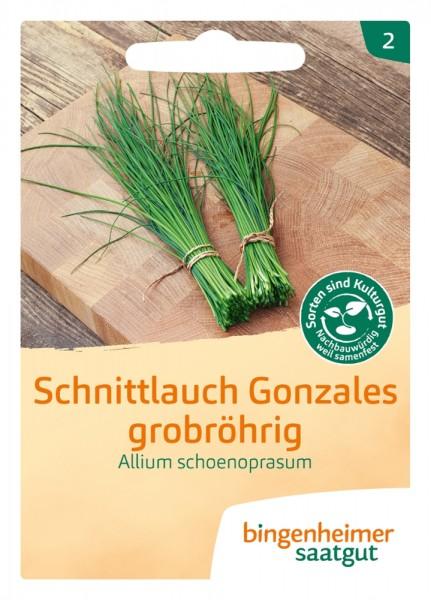BIO Saatgut Schnittlauch Gonzales, grobröhrig