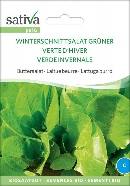 BIO Saatgut Winterschnittsalat, grüner