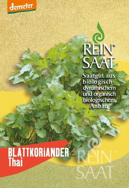 BIO Saatgut Blattkoriander Thai