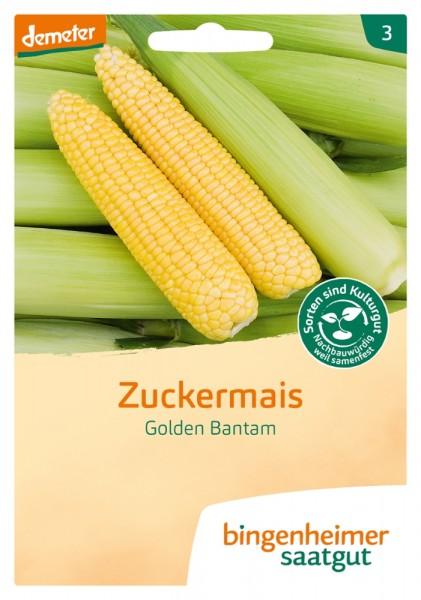 BIO Saatgut Zuckermais Golden Bantam