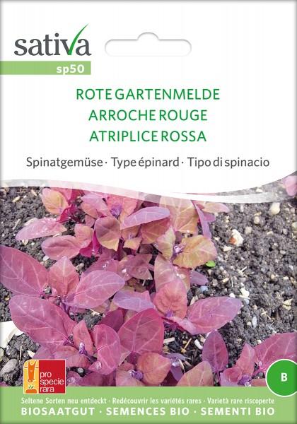 BIO Saatgut Rote Gartenmelde