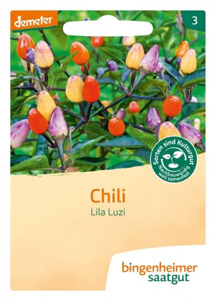 BIO Saatgut Peperoni Lila Luzi