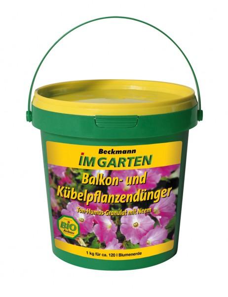 Beckmann Balkon- und Kübelpflanzendünger 1 kg
