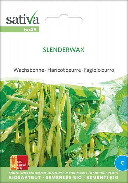 BIO Saatgut Wachsbohne Slenderwax