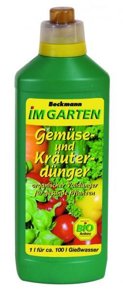 Beckmann Gemüse- und Kräuterdünger 1l