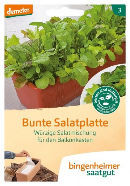 BIO Saatgut Bunte Salatplatte