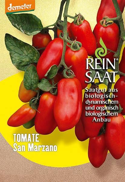 BIO Saatgut Tomate San Marzano