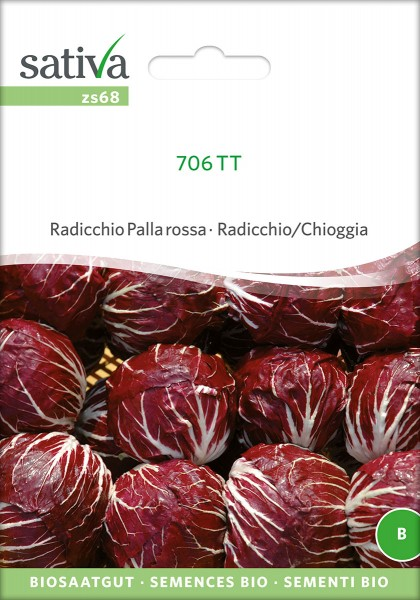 BIO Saatgut Radicchio Palla rossa 706 TT